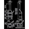 Ενεργειακά Τζάκια Ξύλου Άμεσης Τοποθέτησης - LISBOA VISION - Ενεργειακα τζακια - KARPETIS FIREPLACES