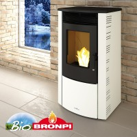Pellet Αερόθερμα - ABRIL EXTRA 11 KW - Ενεργειακα τζακια - KARPETIS FIREPLACES