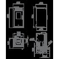 Pellet Αερόθερμα - ALBA 9 KW - Ενεργειακα τζακια - KARPETIS FIREPLACES