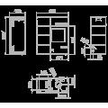 Pellet Αερόθερμα - CAROL MIXTA 10 KW - Ενεργειακα τζακια - KARPETIS FIREPLACES