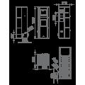 Pellet Αερόθερμα - PAULA 12 KW - Ενεργειακα τζακια - KARPETIS FIREPLACES