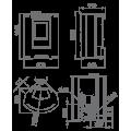 Pellet Αερόθερμα - PRINCESA 12 KW - Ενεργειακα τζακια - KARPETIS FIREPLACES