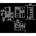 Pellet Αερόθερμα - RITA 9 KW - Ενεργειακα τζακια - KARPETIS FIREPLACES
