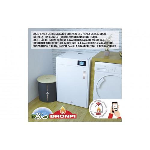 Pellet καλοριφέρ - Pellet λέβητες - HYDROBOX 16 KW - Ενεργειακα τζακια - KARPETIS FIREPLACES