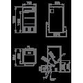 Pellet καλοριφέρ - Pellet λέβητες - HYDROCOMFORT 27 KW - Ενεργειακα τζακια - KARPETIS FIREPLACES