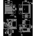 Pellet καλοριφέρ - Pellet λέβητες - ALPES HYDRO 16 KW - Ενεργειακα τζακια - KARPETIS FIREPLACES