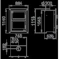 Ενεργειακές Σόμπες Ξύλου με Φούρνο - MURANO-E - Ενεργειακα τζακια - KARPETIS FIREPLACES