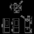 Ενεργειακές Σόμπες Ξύλου - BOMBAY 3C - Ενεργειακα τζακια - KARPETIS FIREPLACES