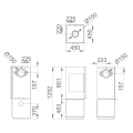 Ενεργειακές Σόμπες Ξύλου - BOMBAY E - Ενεργειακα τζακια - KARPETIS FIREPLACES