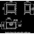 Ενεργειακές Σόμπες Ξύλου - DERBY 14 - Ενεργειακα τζακια - KARPETIS FIREPLACES