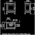 Ενεργειακές Σόμπες Ξύλου - DERBY 9 - Ενεργειακα τζακια - KARPETIS FIREPLACES