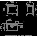 Ενεργειακές Σόμπες Ξύλου - PRESTON 14 - Ενεργειακα τζακια - KARPETIS FIREPLACES