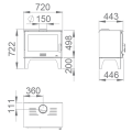 Ενεργειακές Σόμπες Ξύλου - SENA PLUS - Ενεργειακα τζακια - KARPETIS FIREPLACES